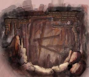 Molten Cave City by death-jargin