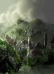 Lost Temple City by death-jargin