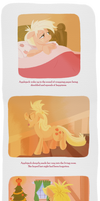 To Applebloom, From Santa Hooves page 5 by WizardWannabe