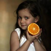 Juicy orange by mechtaniya
