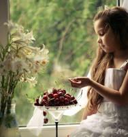 June... A sweet cherry... by mechtaniya