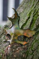 Fall Colors Oak Leaf Mask by OsborneArts