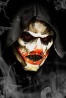 Clown Horror Leather Mask by OsborneArts