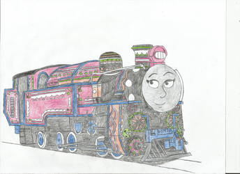 Ashima (Actual Design) by metalheadrailfan