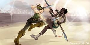 for Orum's battles by WingOfWind