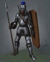 Norse Heavy Infantry Concept by Heavyarmorhellfire