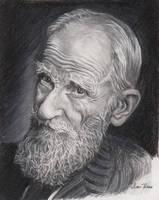 George Bernard Shaw by reesmeister