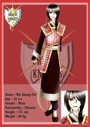 OoK: Shang Fei's Chara Sheet by CatSummoner