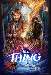 THE THING - LIMITED EDITION POSTER PRINT by kyle-lambert