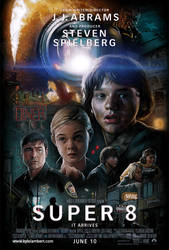 SUPER 8 - MOVIE POSTER ART by kyle-lambert