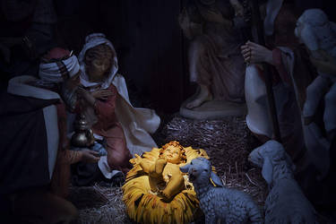 Nativity Scene by Caleg0