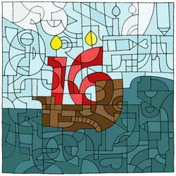 Happy Birthday dA! by the-renegade