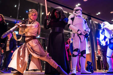 The Force Awakens Gala Event by Applenaut