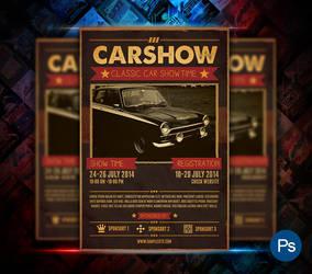 Car Show Event Flyer by afizs