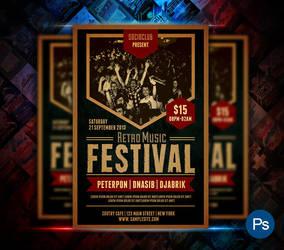 Music Festival Flyer by afizs