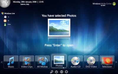 Windows Media Center 2008 by xazac87