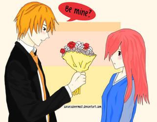 You are the one I love. Be mine? by SakuraSilverMist