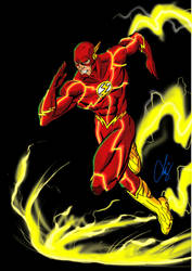 The Flash_by Quicksilver_Z by Quicksilver-Z