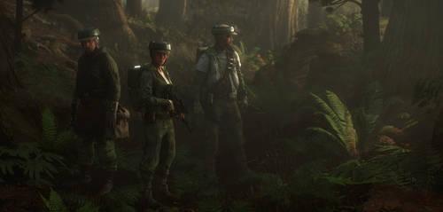 Endor strike team commandos by Slim-Charles