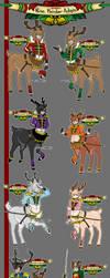 $9 Santa's Nine Reindeer Taur Adopts [CLOSED] by azume-adopts