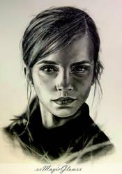 Emma Watson by xxMagicGlowxx