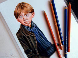 Ron Weasley - work in progress by xxMagicGlowxx