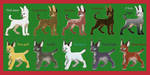 [OPEN] Auction: Christmas big cats batch by Yoshitsune06-15