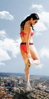 Giantess Olivia Culpo by dochamps