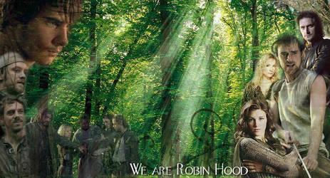 Robin Hood Wallpaper by GunkyChicken