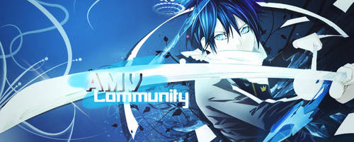 AMV Community Noragomi Banner by 17flip
