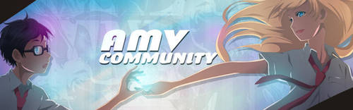 AMV Community - Shigatsu Banner by 17flip