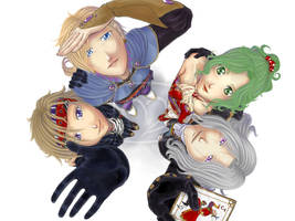 Comission - Final Fantasy VI by Mila-Valentine