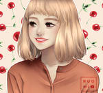 Cherry girl by RuoMi