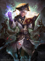 Mobius Final Fantasy ::Scholar:: by Dopaprime