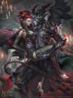 LotC:: Dark Cinderella by Dopaprime
