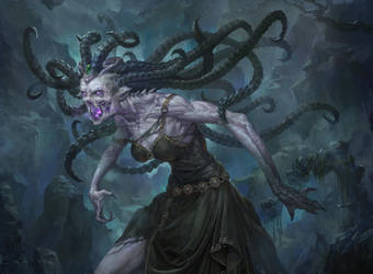 MTG: Arisen Gorgon by Dopaprime