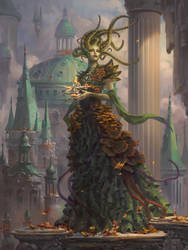 MTG: Vraska, Golgari Queen by Dopaprime