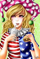 Clownpls3 by LunaticDolly