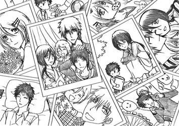 Kurosaki Family by Duongvjp1112