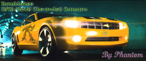 Bumblebee 2009 camaro by phantom914