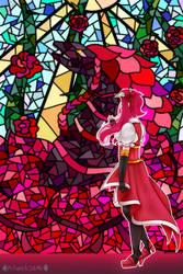 Black Rose Witch by MikomiKisomi