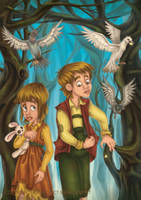 Hansel and Gretel 1 2013th. by RosieVangelova