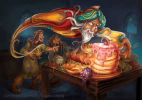 Aladdin and the Magic Lamp 2013 1 by RosieVangelova