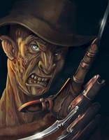 Freddy Krueger by RosieVangelova