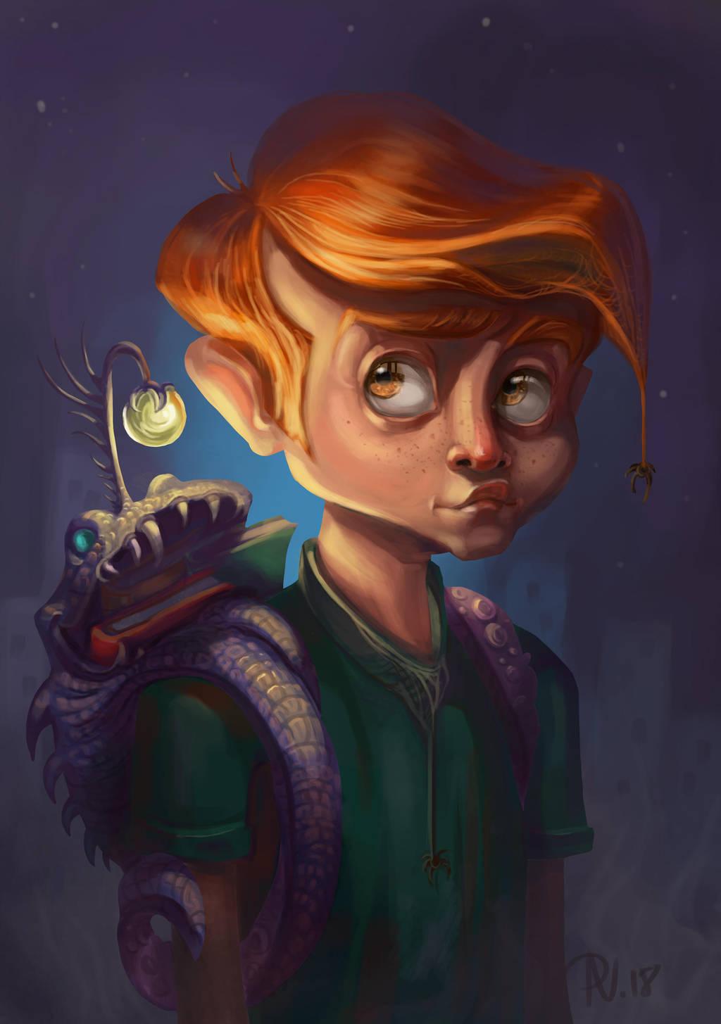 Night School Boy by RosieVangelova