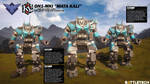 Battletech - Orion ON1-MKI Mata Kali Retrofit by carmenara