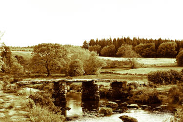 Sepia Bridge by the-other1