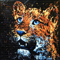 Petite panthere de l'amour by JessicaSansiquet