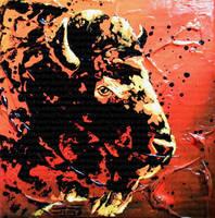 Bison by JessicaSansiquet