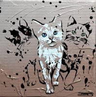 Petit trio by JessicaSansiquet